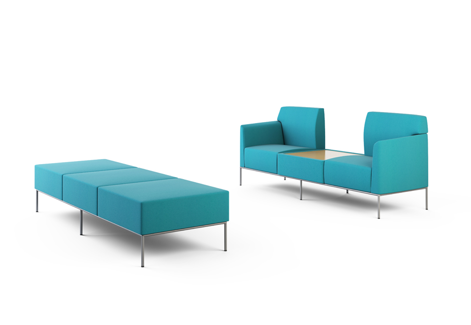 These Ideas Are Manifested In A Collection Of Tables, Ottomans, Benches,  Chairs, And Sofasu2014 All Of Which Configure For Vast And Vibrant  Possibilities.