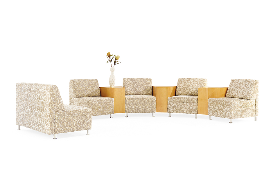 Combine Half Round, 30 Degree, 45 Degree, And 60 Degree Veneer Or Laminate  Connecting Tables And One, Two, Three, And Half Round Seat Bench Units To  Create ...